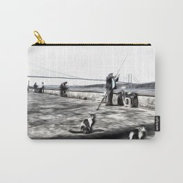 Fishermen And Cats Istanbul Carry-All Pouch