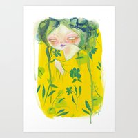 hawaii Art Prints featuring Hawaii by STUDIO KILLERS