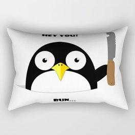 Hey_You_Run Rectangular Pillow