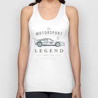 bmw Tank Tops featuring BMW M1 by Ultimate Klasse Apparel