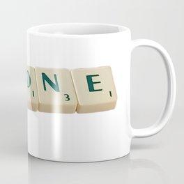 Alone Letter Tiles 2020 Coffee Mug