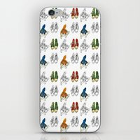 converse iPhone & iPod Skins featuring Converse by Amy frances Illustration