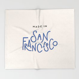 Made in San Francisco Throw Blanket