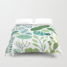Botanical Chart Duvet Cover