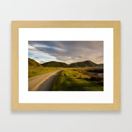 Coastal Road Framed Art Print