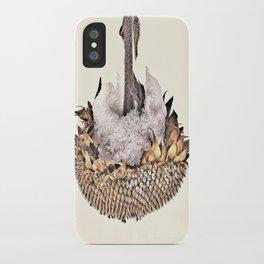 Sunflower in Winter iPhone Case
