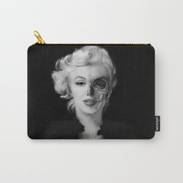Dead Celebrities Series Half Skull Carry-All Pouch