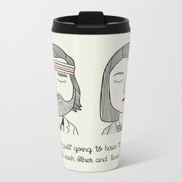 M & R Metal Travel Mug
