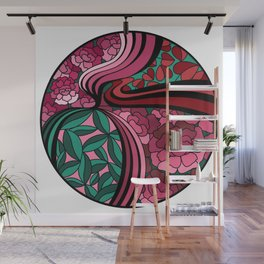 Floral Unity Wall Mural