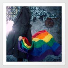 Sherlock Pride Art Print