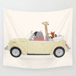 road trip huit Wall Tapestry