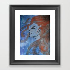 Doused in Flame Framed Art Print