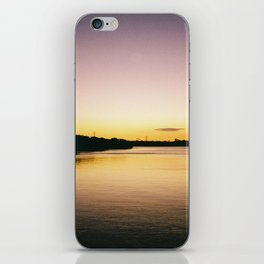 Waterfront Sunset iPhone Skin
