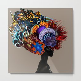 Crowning Glory I Metal Print