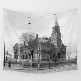 The Knox County Courthouse in Knoxville, Tennessee Wall Tapestry