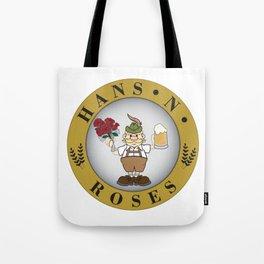Hans'n'Roses Tote Bag