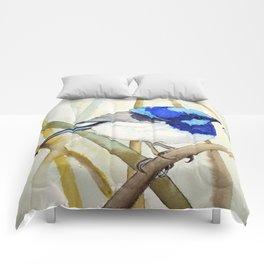 Blue Bird (Sold - original) Comforters
