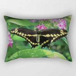 Quiet Observations Rectangular Pillow