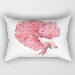 Fancy Betta Rectangular Pillow