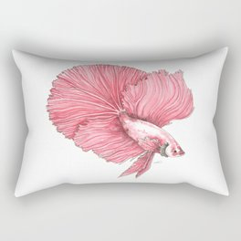 Fancy Betta Rectangular Pillow