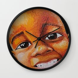 Sourire Maurice Wall Clock