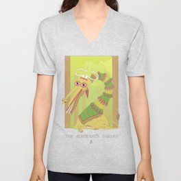 The Elephant's Garden - The Perpetual Glibb Unisex V-Neck