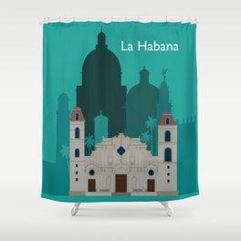 La Habana Shower Curtain