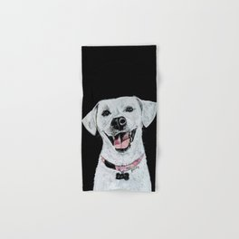 Smiling Dog Hand & Bath Towel
