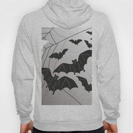Ghosts and Bats Spiderweb Halloween Hoody