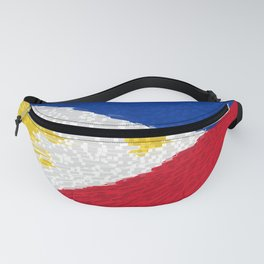 Extruded flag of the Philippines Fanny Pack
