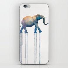 elephant walk iPhone Skin