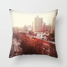 The Upper East Side (An Instagram Series) Throw Pillow