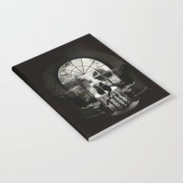 Room Skull B&W Notebook