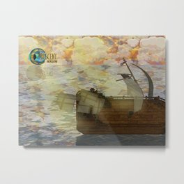 Crescent Hollow Sail Away 2 Metal Print