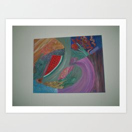 TROPICAL DREAMIN  Art Print