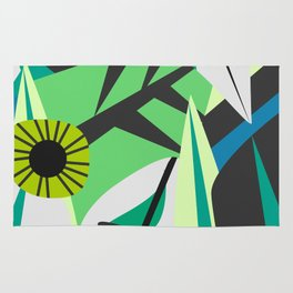 Fresh tropical decor Rug