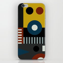 SPEECH AT THE BAUHAUS iPhone Skin