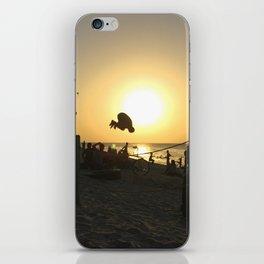 Beach Bounce iPhone Skin