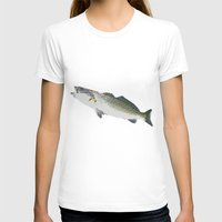 trout T-shirts featuring Dad's Speckled trout by Kyle Ellsworth
