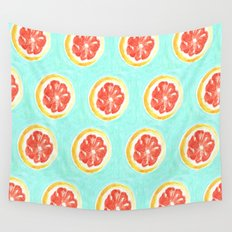 Grapefruit II Wall Tapestry