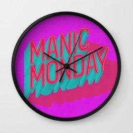 Manic Monday Wall Clock