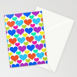 Bright hearts Stationery Cards