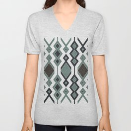 Tribal shapes 1.0 Unisex V-Neck