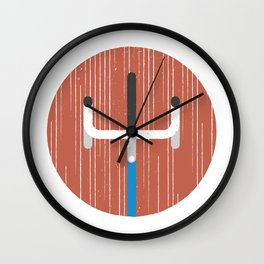 Grab Life by the Bars Wall Clock