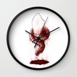 Tooth Millipede Wall Clock