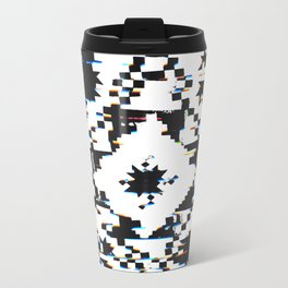 Twisted Quilt Metal Travel Mug