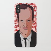 quentin tarantino iPhone & iPod Cases featuring Tarantino by Happy Motion
