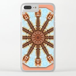 Colors of Rust / mandala-style-rust Clear iPhone Case