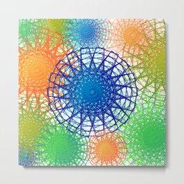 art of colorful squares Metal Print