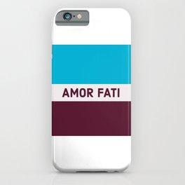 AMOR FATI - STOIC WISDOM iPhone Case